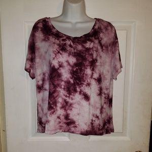 American Eagle Soft & Sexy AEO T-Shirt Tie Dye
